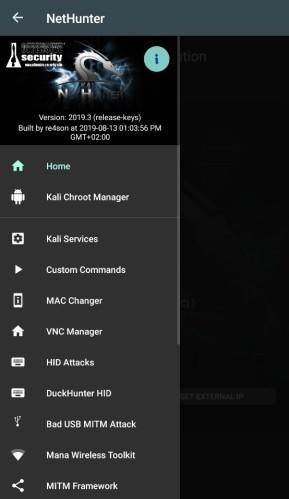 Kali Linux NetHunter für Android-Geräte