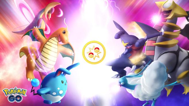 Pokémon GO: Kampf-Liga©Niantic