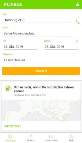 FlixBus (Android-App)