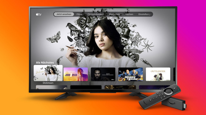 Apple TV+ mit Fire TV Stick nutzen © Amazon, Apple