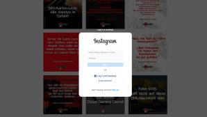 Instagram nur noch für Nutzer©Instagram, COMPUTER BILD