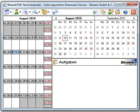 Bitwerk Terminkalender