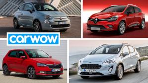 Jahreswagen©Carwow, Renault, Skoda, Ford, Fiat
