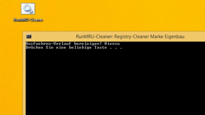 Registry-Cleaner programmieren: RunMRU-Cleaner in wenigen Minuten bauen©COMPUTER BILD