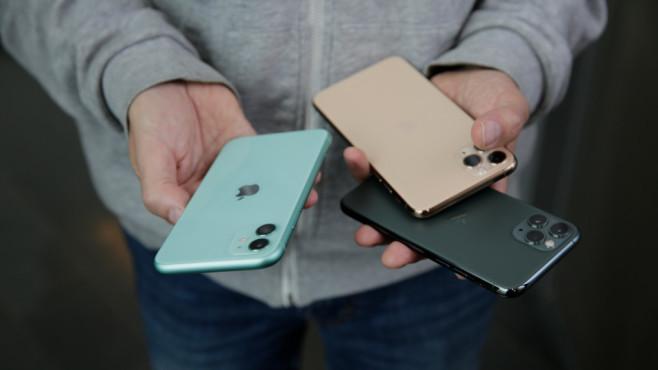 Apple iPhone 11, iPhone 11 Pro, iPhone 11 Pro Max©COMPUTER BILD