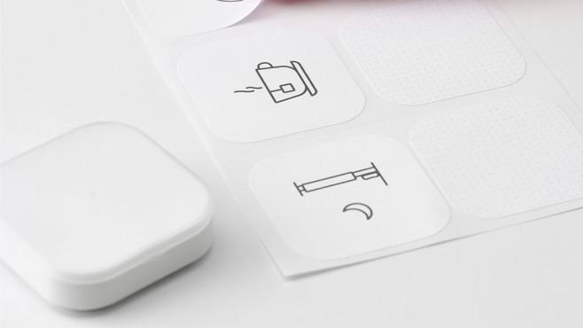 IKEA Shortcut Button liegt neben Beschreibungsbildchen©IKEA