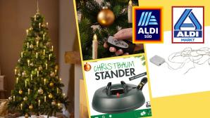 Aldi: Weihnachtsdeko vom Discounter im Preis-Check©Aldi