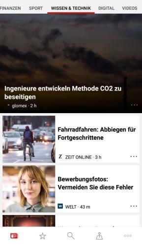 Microsoft News: Nachrichten (Android-App)