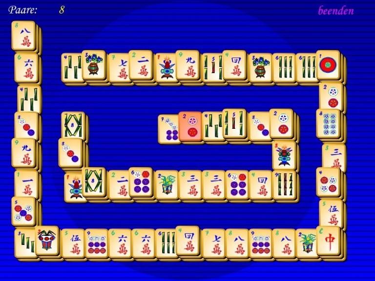 Screenshot 1 - Freeware Mahjongg
