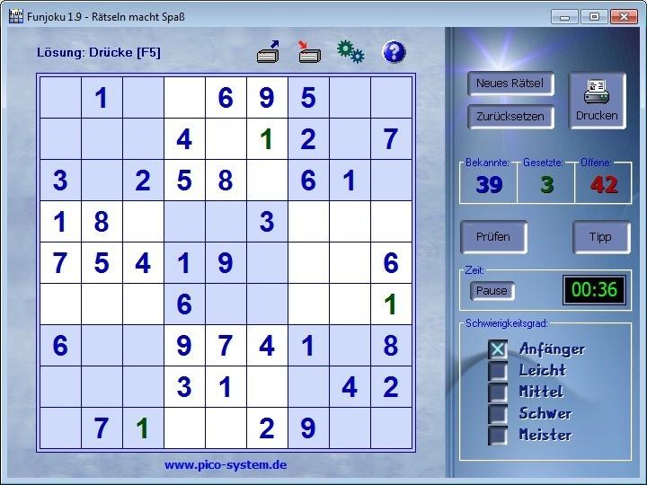 Screenshot 1 - Funjoku