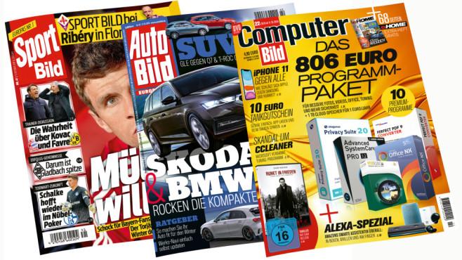Im Tarif enthalten: 12 Monate gratis lesen©Axel Springer SE