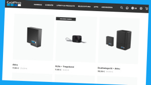 General�berholte GoPros im Onlineshop©PR/Screenshot www.gopro.com/de