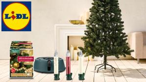 Lidl: Weihnachtsdeko-Angebote im Preis-Check©Lidl