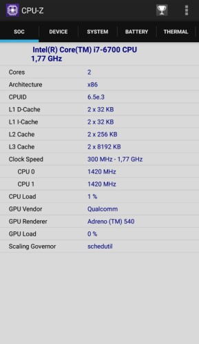 CPU-Z (Android-App)