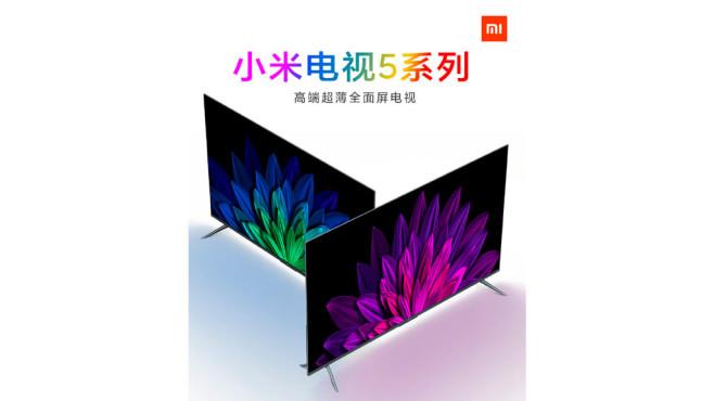 Xiaomi Mi TV 5©Xiaomi, Weibo