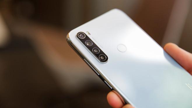 Xiaomi Redmi Note 8T: Rückseite mit Kameras©COMPUTER BILD