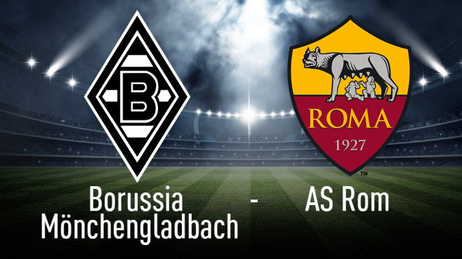 Europa League: Mönchengladbach gegen AS Rom © Borussia Mönchengladbach, AS Rom