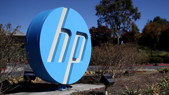HP-Logo © Justin Sullivan / Getty Images