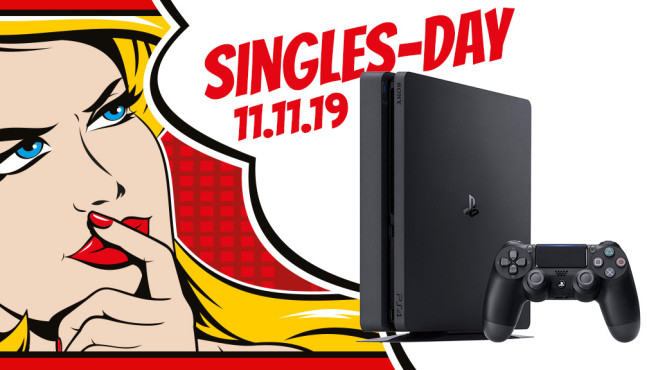 PlayStation-4-Angebot am Singles Day © iStock.com/jameslee1