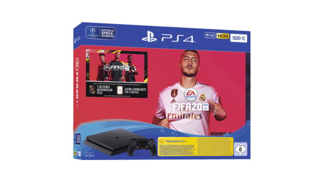 PlayStation 4 + Fifa 20 © Media Markt