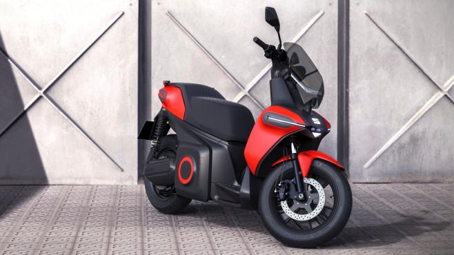 Seat-Motorrad beim Smart City Expo World Congress©Seat
