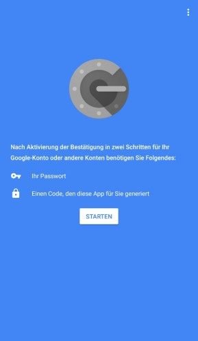 Google Authenticator (Android-App)
