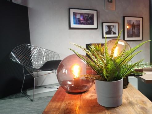 Testfoto mit dem Gigaset GS290: Stillleben mit Pflanze und Lampen©COMPUTER BILD