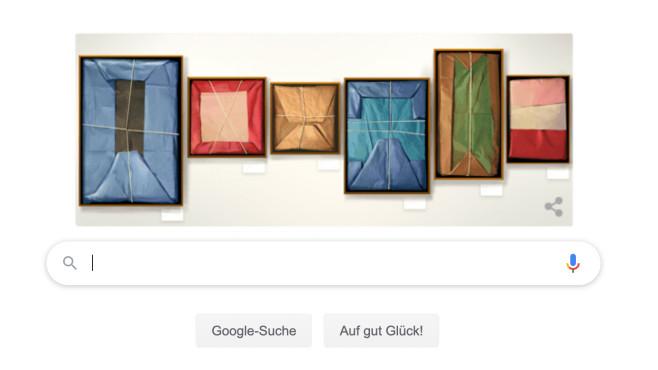 Google Doodle: Claudio Bravo Camus©Google