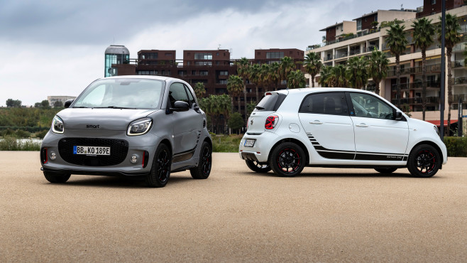 EQ fortwo und forfour©Smart