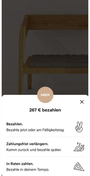 Klarna (App für iPhone & iPad)
