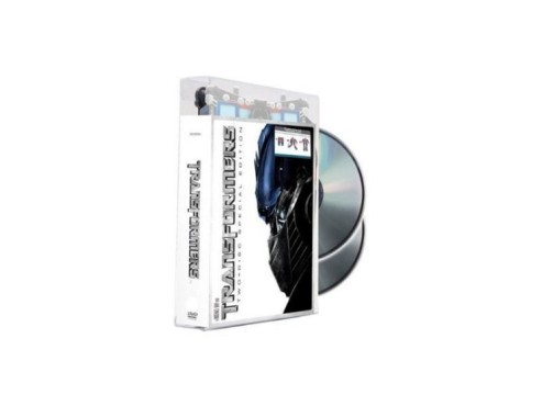 DVD: Transformers Optimus Prime Package ©Paramount Home Entertainment