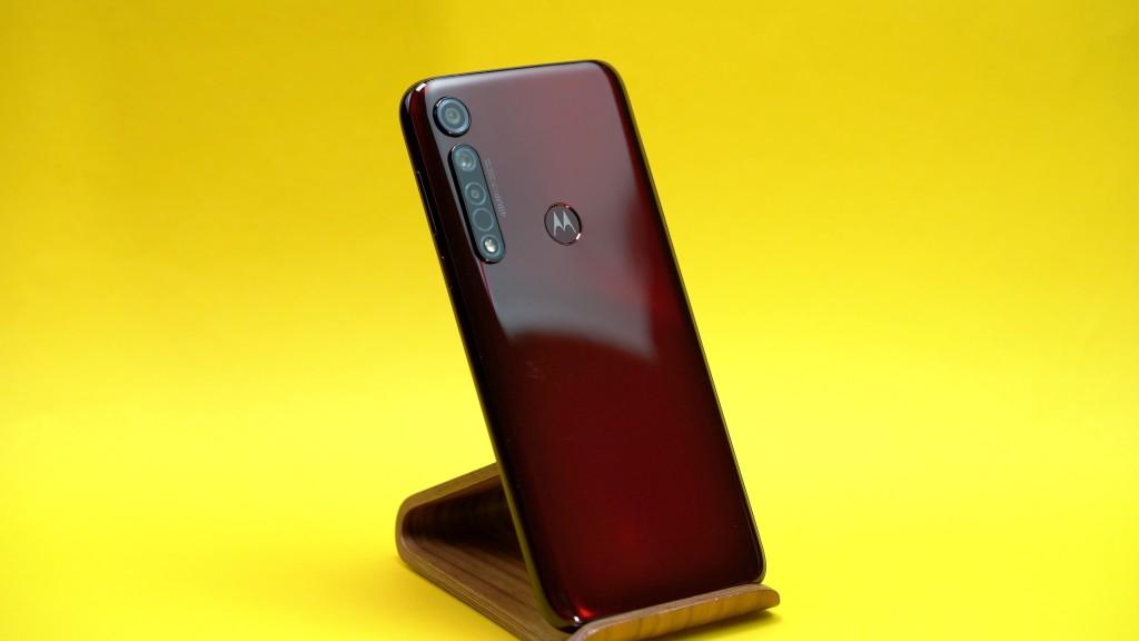 Motorola Moto G8 Plus: Rückseite©COMPUTER BILD