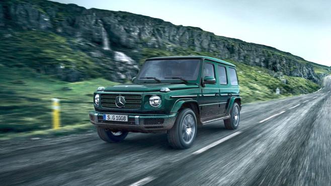 Mercedes G-Klasse©Daimler
