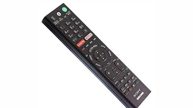 OLED-Fernseher Sony AG8 im Test: Der Preisbrecher Die Fernbedienung vom Sony AG8 ist eine alte Bekannte aus früheren Sony-TV-Jahrgängen. Die wichtigsten Funktionen sind einfach bedienbar, alles Weitere muss man suchen.©Sony