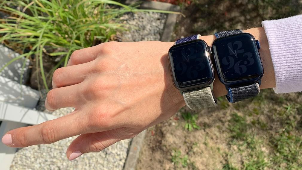 Apple Watch 5 und 6: Always On Vergleich