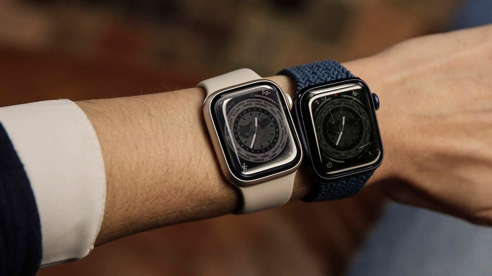 Apple Watch 7 vs. 6 Always on