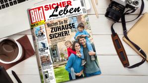 BILD Sicher leben: Das neue Rundum-Sorglos-Magazin Die neue Ausgabe von BILD Sicher leben ist ab sofort im Zeitschriftenhandel erhältlich.©COMPUTER BILD /  iStock.com/ninelutsk