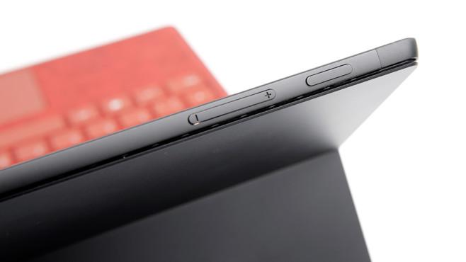 Microsoft Surface Pro 7 im Detail ©COMPUTER BILD