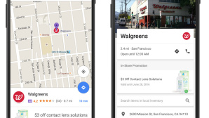 Google-Maps-Werbung: Visitenkarte eines Geschäfts © Screenshots: http://adwords.blogspot.de/2016/05/ads-and-analytics-innovations-for-a-mobile-first-world.html