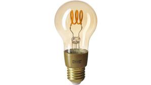 Trådfri-Lampe vor weißem Hintergrund©IKEA