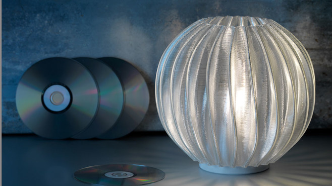 Signify-Leuchte aus recyceltem Material©Signify