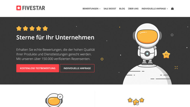 Fivestar Marketing©Screenshot/Fivestar