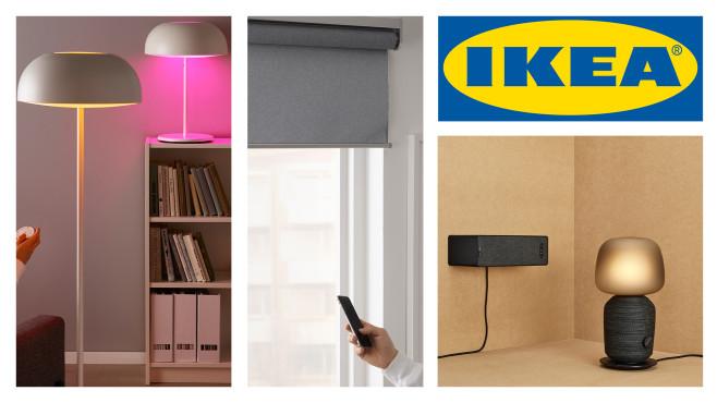 Das Tradfri-Sortiment von IKEA im Überblick©IKEA, Inter IKEA Systems B.V., obs/IKEA Deutschland GmbH & Co. KG/Inter IKEA Systems B.V. 2019
