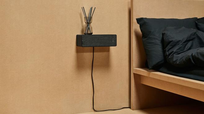 IKEA-Lautsprecher hängt an der Wand.©obs/IKEA Deutschland GmbH & Co. KG/Inter IKEA Systems B.V. 2019