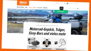 Motea: Motorradteile und Zubeh�r jetzt 30 Prozent g�nstiger©Screenshot www.motea.com/de