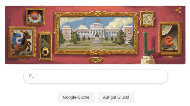 Google Doodle: Museo del Prado©Google