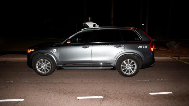 Uber-Roboterwagen©dpa-Bildfunk