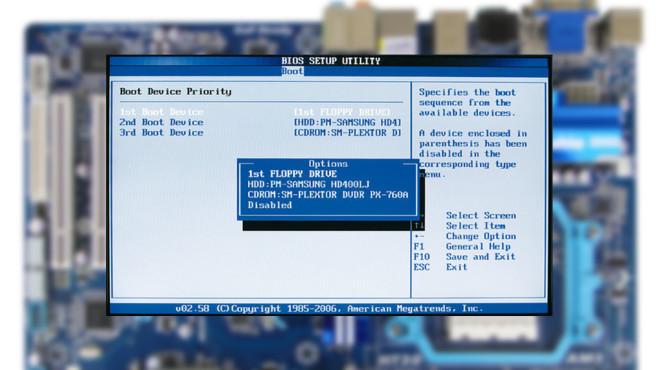 BIOS-Update-Finder ©Gibabyte, COMPUTER BILD