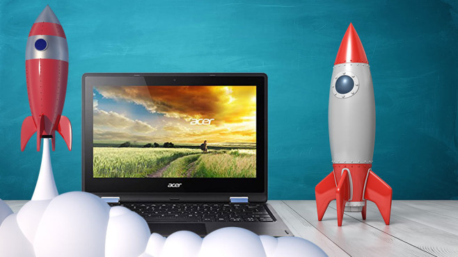 Windows ohne Autostart starten ©iStock.com/Gearstd, iStock.com/Creaktiva, Acer