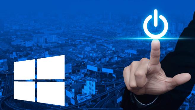 Windows per Batchdatei zeitgesteuert herunterfahren / neustarten ©istock.com/grapestock